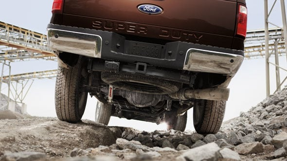 2014 Ford F-350 Exterior Rear End