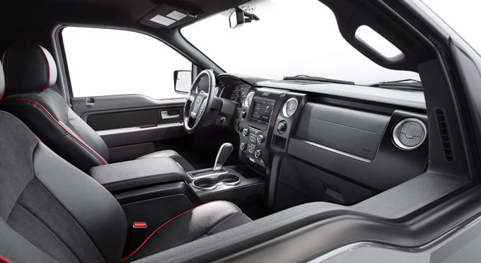 2014 Ford F-150 Interior Seating