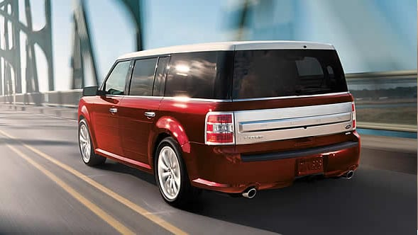 2015 Ford Flex Exterior Rear End