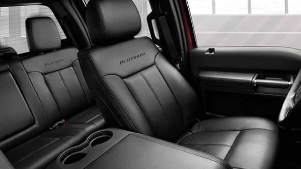 2015 Ford F-350 Platinum Interior Seating