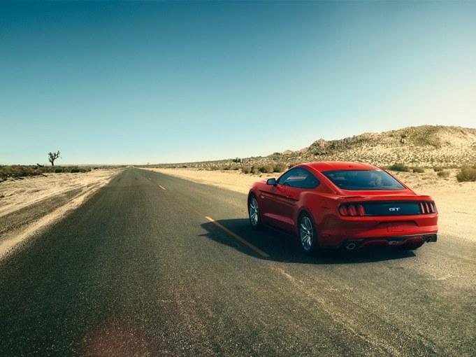 2015 Ford Mustang Exterior Rear