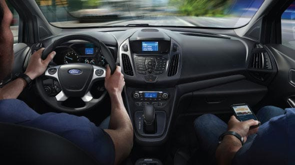 2015 Ford Transit Connect Interior Dashboard