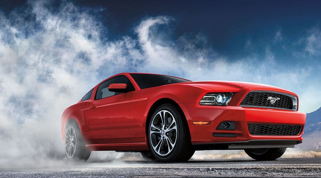 2014 Ford Mustang Red Front View