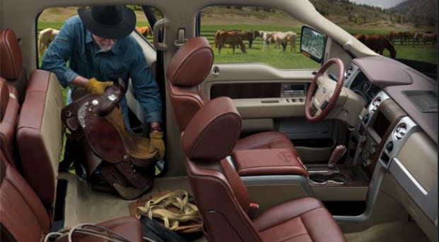 2013 Ford F-150 King Ranch Interior Seating