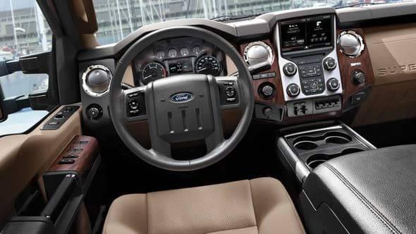2014 Ford F-350 Interior