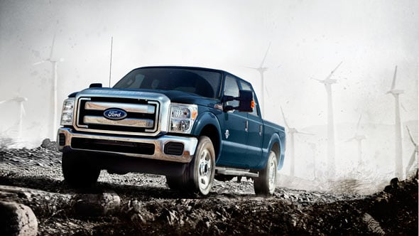2014 Ford F-350 Exterior Front End