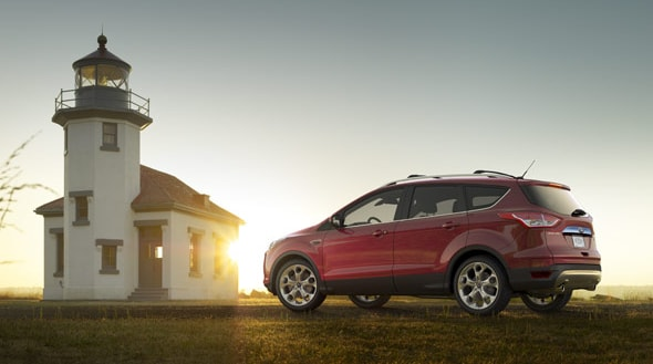 2015 Ford Escape Titanium Exterior Side View