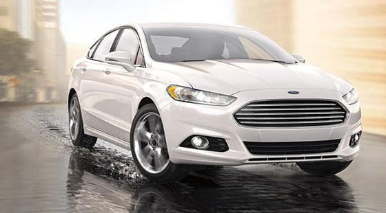 2015 Ford Fusion Titanium Exterior Front