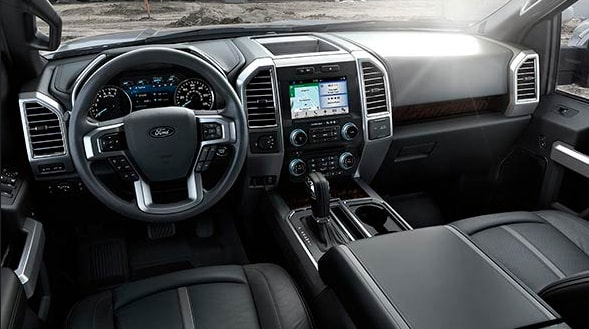2016 Ford F-150 Limited Interior