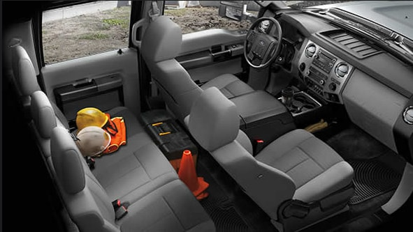 2015 Ford F-450 Super Duty Interior