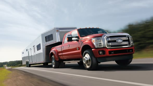 2015 Ford F-350 Platinum Exterior Side View