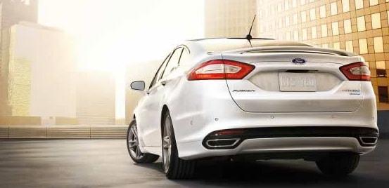 2015 Ford Fusion Titanium Exterior Rear