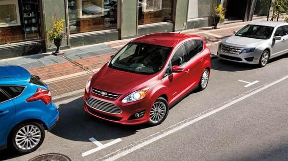 2015 Ford C-Max Exterior Birds Eye View