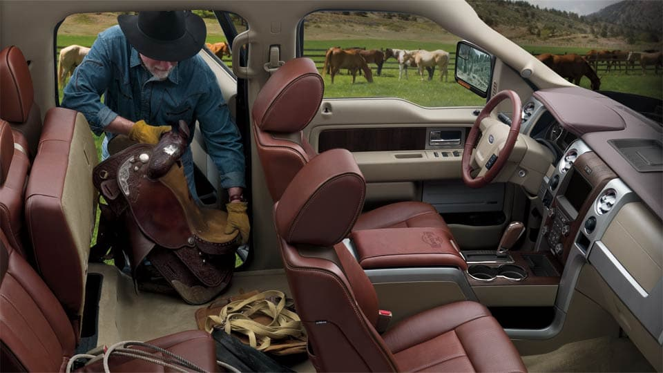 2014 Ford F150 King Ranch Interior