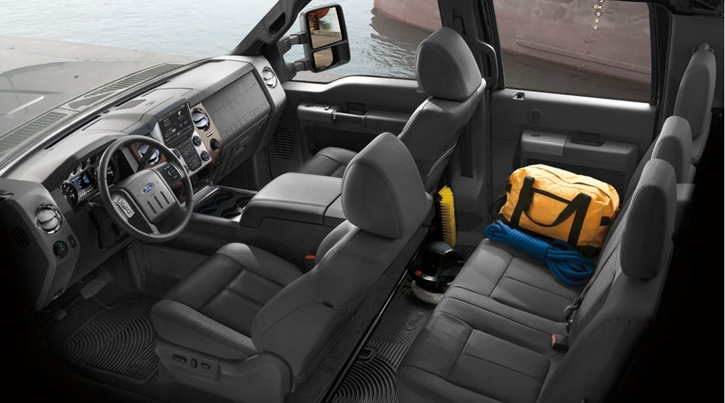 2014 Ford F250 Crew Cab Interior