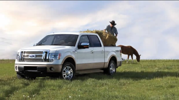 2013 Ford F-150 King Ranch Exterior Front End