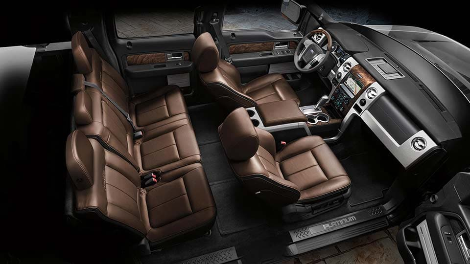 2014 Ford F-150 Platinum Interior