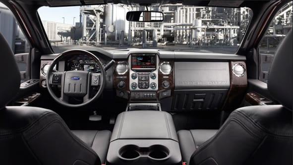2015 Ford F-350 Platinum Interior Dashboard