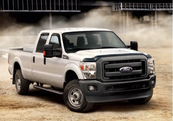 2014 Ford F250 XL Crew-Cab With Customized Accessories