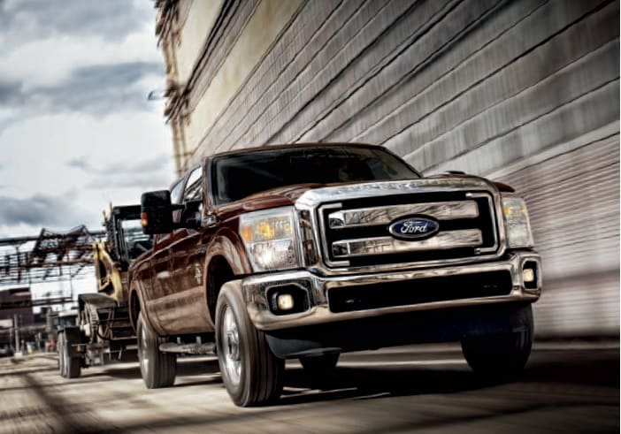2014 Ford F-250 Front View