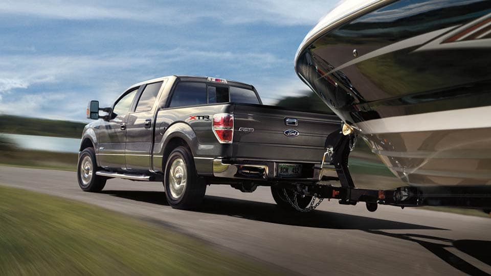 2014 Ford F150 King Ranch Back View