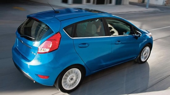 2015 Ford Fiesta Titanium Exterior Rear View