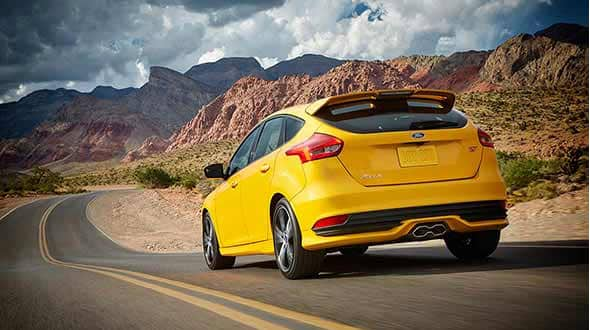 2015 Ford Focus ST Exterior Rear End