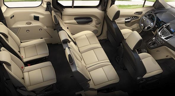 2015 Ford Transit Connect Interior Seating