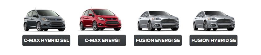 Ford Hybrid and Electric Lineup