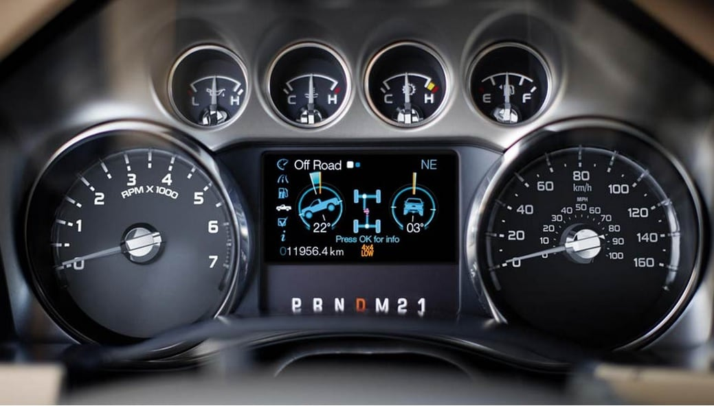 2014 Ford F250 4.2 Inch Vehicle Info Display