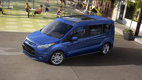 2015 Ford Transit Connect Exterior Front End