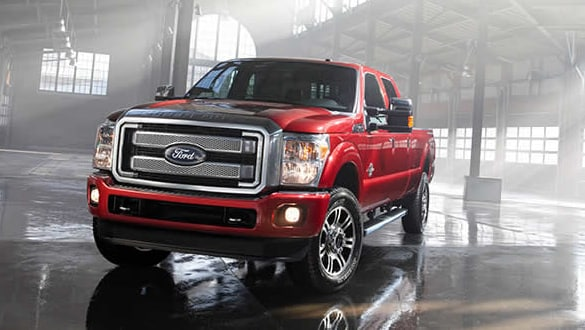 2015 Ford F-350 Platinum Exterior Front End